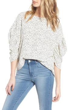 https://shop.nordstrom.com/s/leith-ruched-sleeve-top/4771250?origin=category-personalizedsort&fashioncolor=IVORY%20BTTN%20DOTS